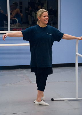 Sandra Miller - dance teacher